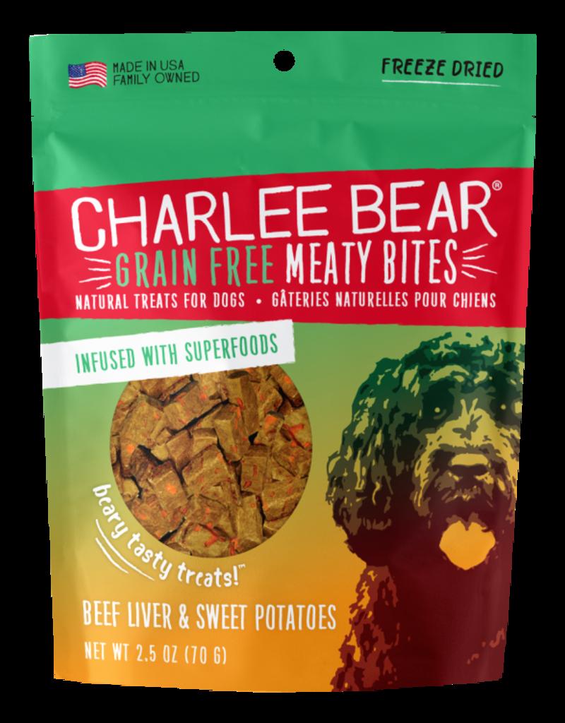 Charlee Bear Charlee Bear Meaty Bites Beef Liver & Sweet Potatoes