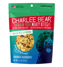 Charlee Bear Charlee Bear Meaty Bites Chicken & Blueberries