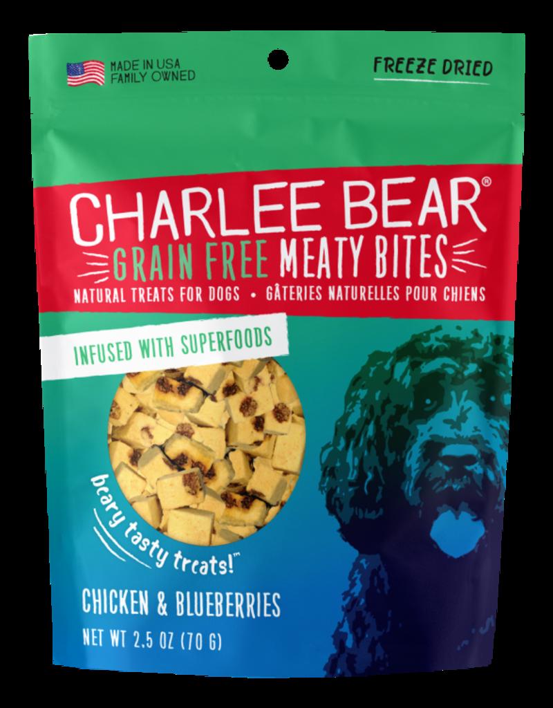 Charlee Bear Charlee Bear Meaty Bites Chicken & Blueberries