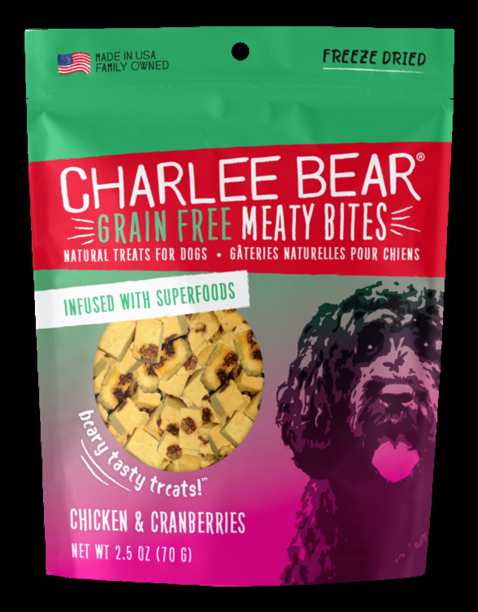 Charlee Bear Meaty Bites Chicken & Cranberries