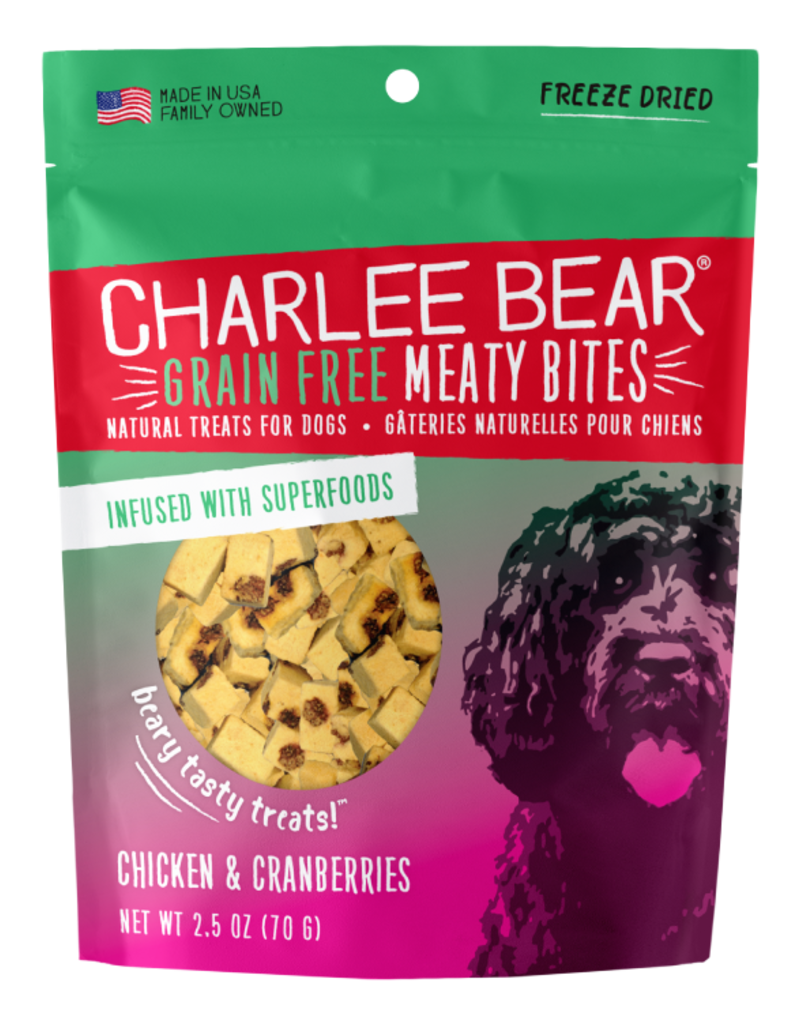 Charlee Bear Charlee Bear Meaty Bites Chicken & Cranberries