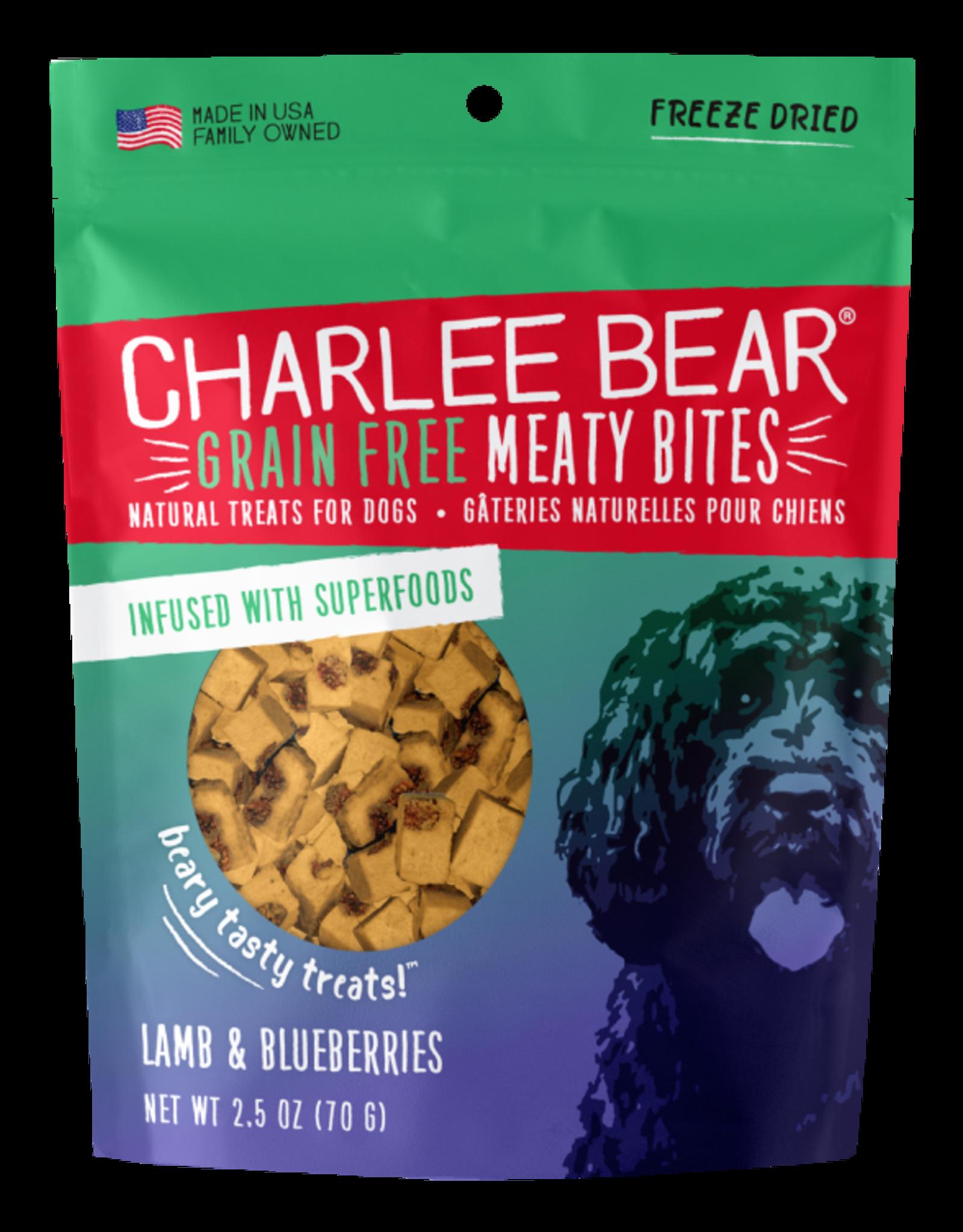 Charlee Bear Meaty Bites Lamb & Blueberries