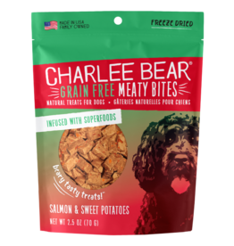 Charlee Bear Meaty Bites Salmon & Sweet Potatoes
