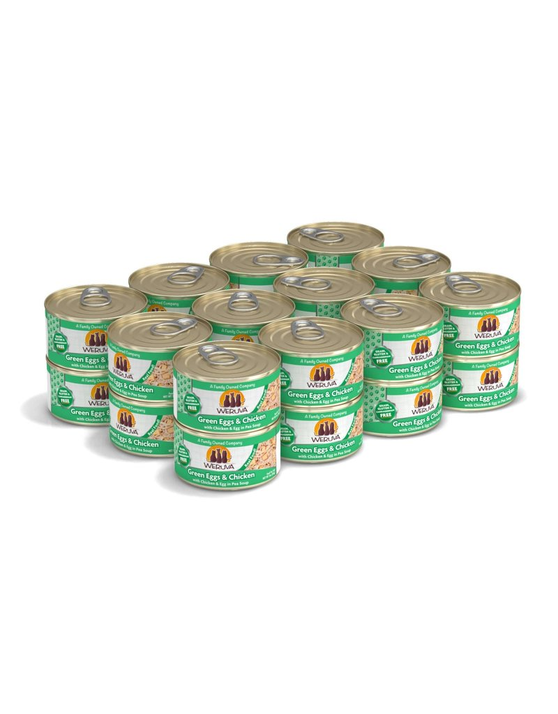 Weruva Weruva Green Eggs & Chicken with Chicken & Egg in Pea Soup Wet Cat Food