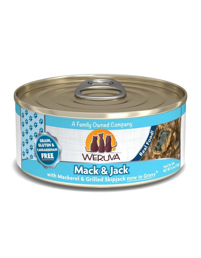 Weruva Weruva Mack and Jack with Mackerel & Grilled Skipjack now in Gravy Wet Cat Food