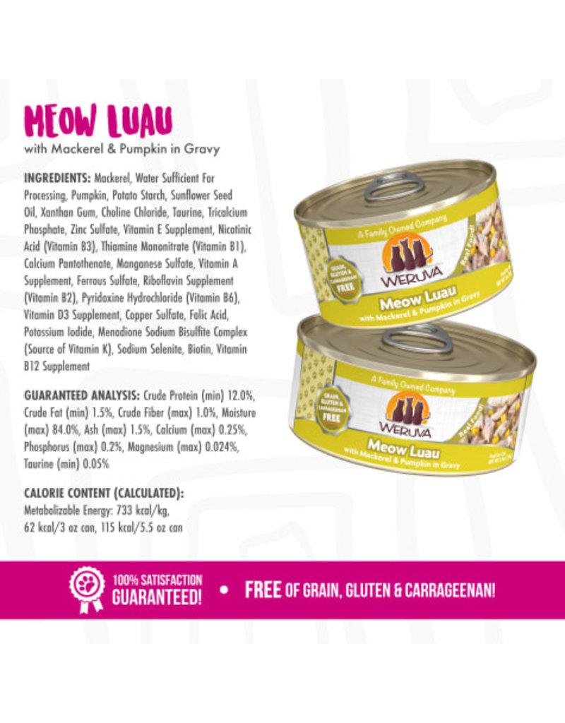 Weruva Weruva Meow Luau with Mackerel & Pumpkin in Gravy Wet Cat Food