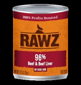 RAWZ Natural Pet Food RAWZ 96% Beef & Beef Liver