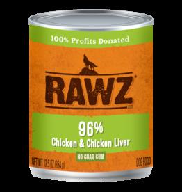 RAWZ Natural Pet Food RAWZ 96% Chicken & Chicken Liver
