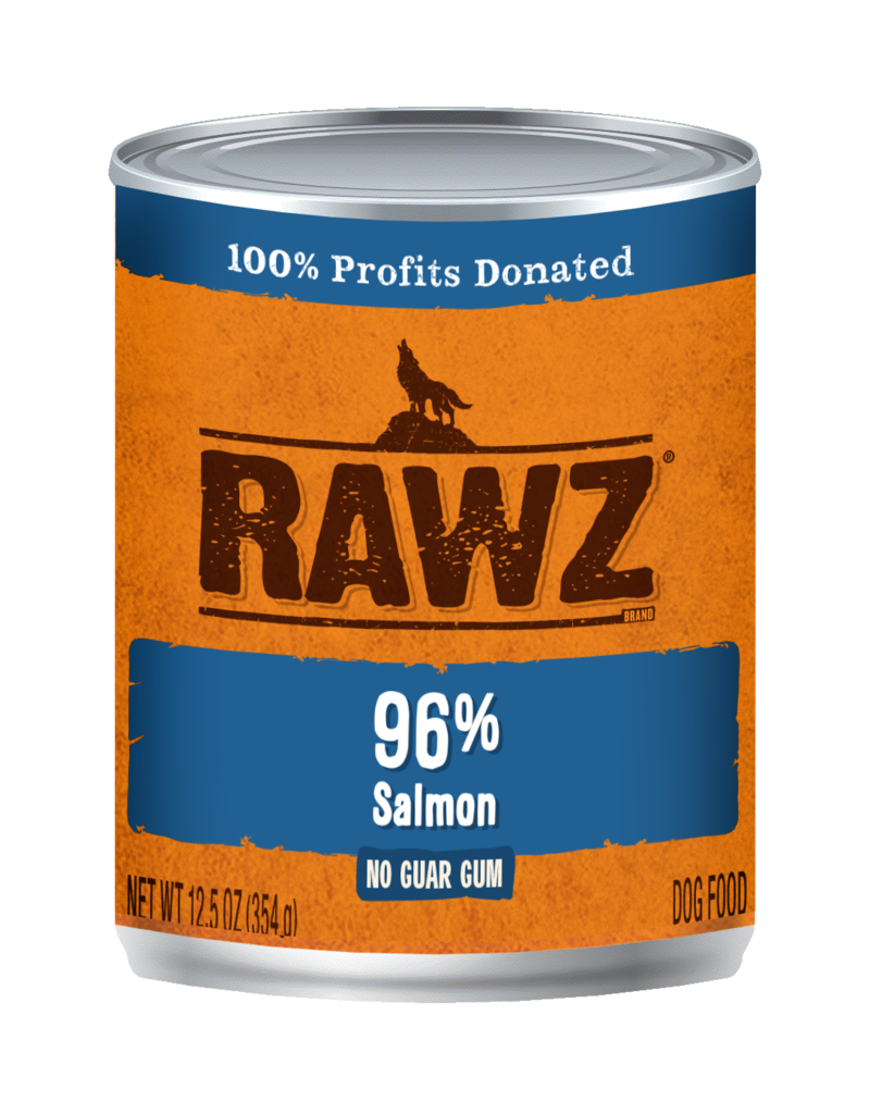 RAWZ Natural Pet Food RAWZ 96% Salmon Canned Dog Food