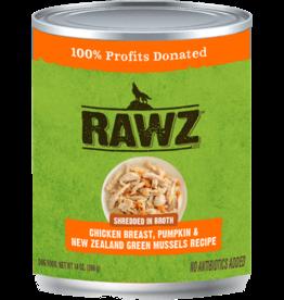 RAWZ Natural Pet Food RAWZ Shredded in Broth Chicken Breast, Pumpkin & New Zealand Green Mussels
