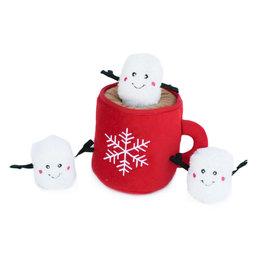 ZippyPaws Holiday Burrow - Hot Cocoa