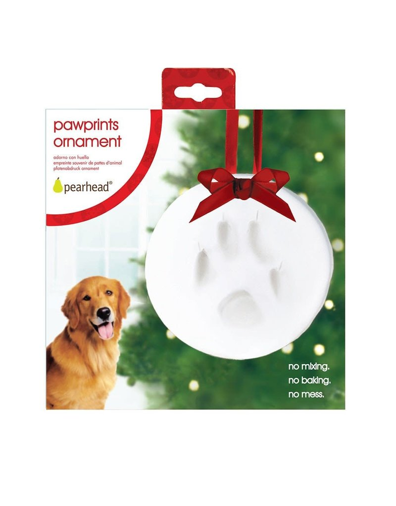 Pet Paw Print Ornament by Pearhead