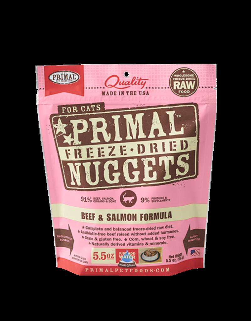 Primal Pet Foods Primal Beef & Salmon Formula Raw Freeze-Dried Cat Food