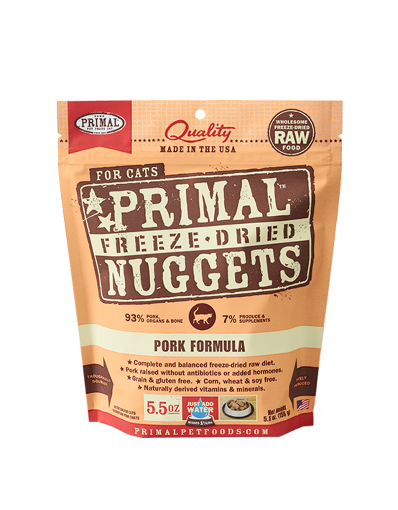 Huxley & Kent Primal Pork Formula Raw Freeze-Dried Cat Food