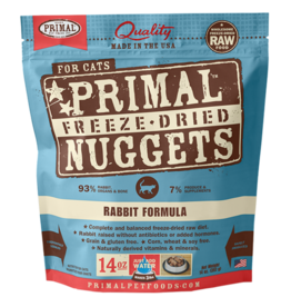 Primal Pet Foods Primal Rabbit Formula Raw Freeze-Dried Cat Food