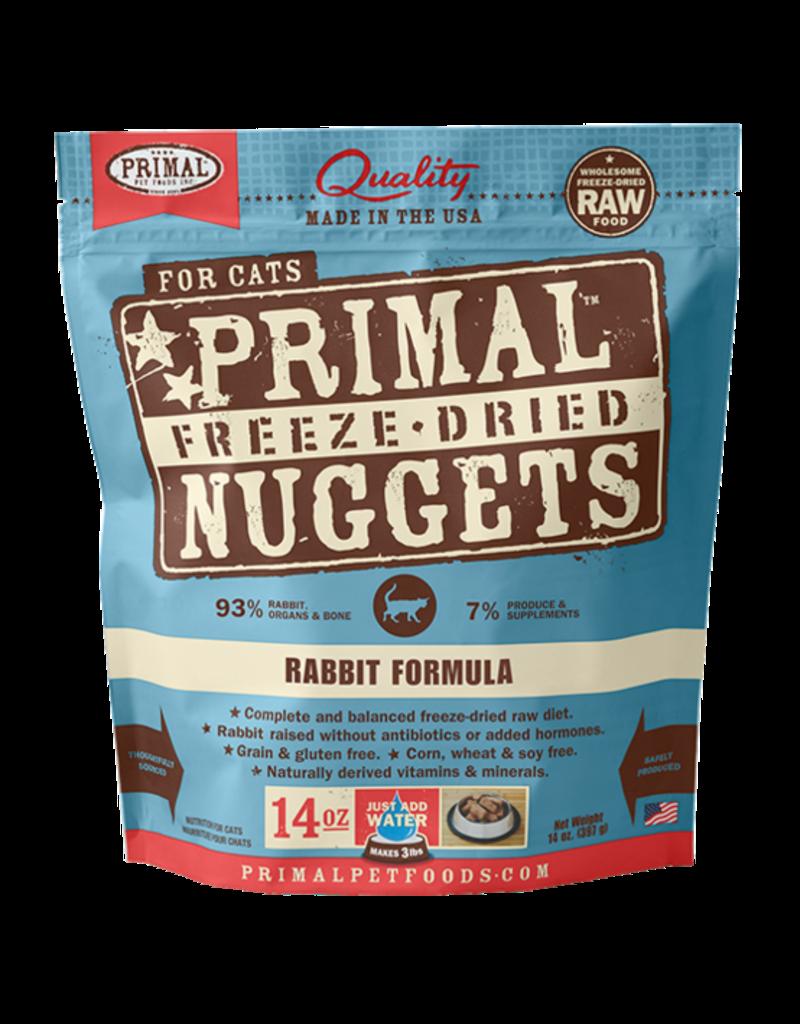 Primal Pet Foods Primal Rabbit Formula Raw Freeze-Dried Cat Food