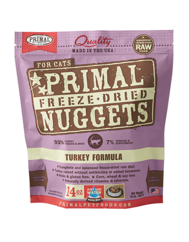 Primal Pet Foods Primal Turkey Formula Raw Freeze-Dried Cat Food