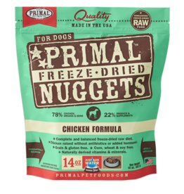 Primal Pet Foods Primal Canine Freeze-Dried Nuggets Chicken