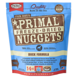 Primal Pet Foods Primal Canine Raw Freeze-Dried Nuggets Duck