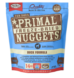Primal Pet Foods Primal Canine Freeze-Dried Nuggets Duck