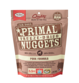 Primal Pet Foods Primal Canine Raw Freeze-Dried Nuggets Pork