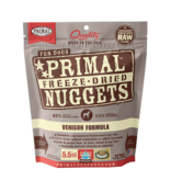 Primal Pet Foods Primal Canine Raw Freeze-Dried Nuggets Venison