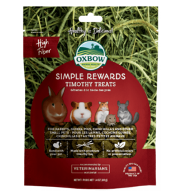 Oxbow Animal Health Simple Rewards Timothy Treats