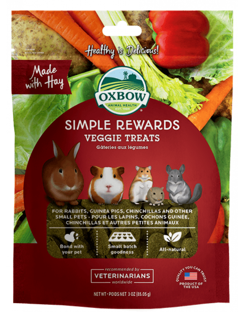 Oxbow Animal Health Simple Rewards Veggie Treats