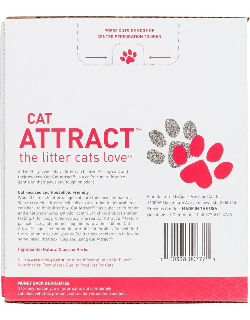 Dr. Elseys Dr. Elsey's Precious Cat Attract Unscented Clumping Clay Cat Litter