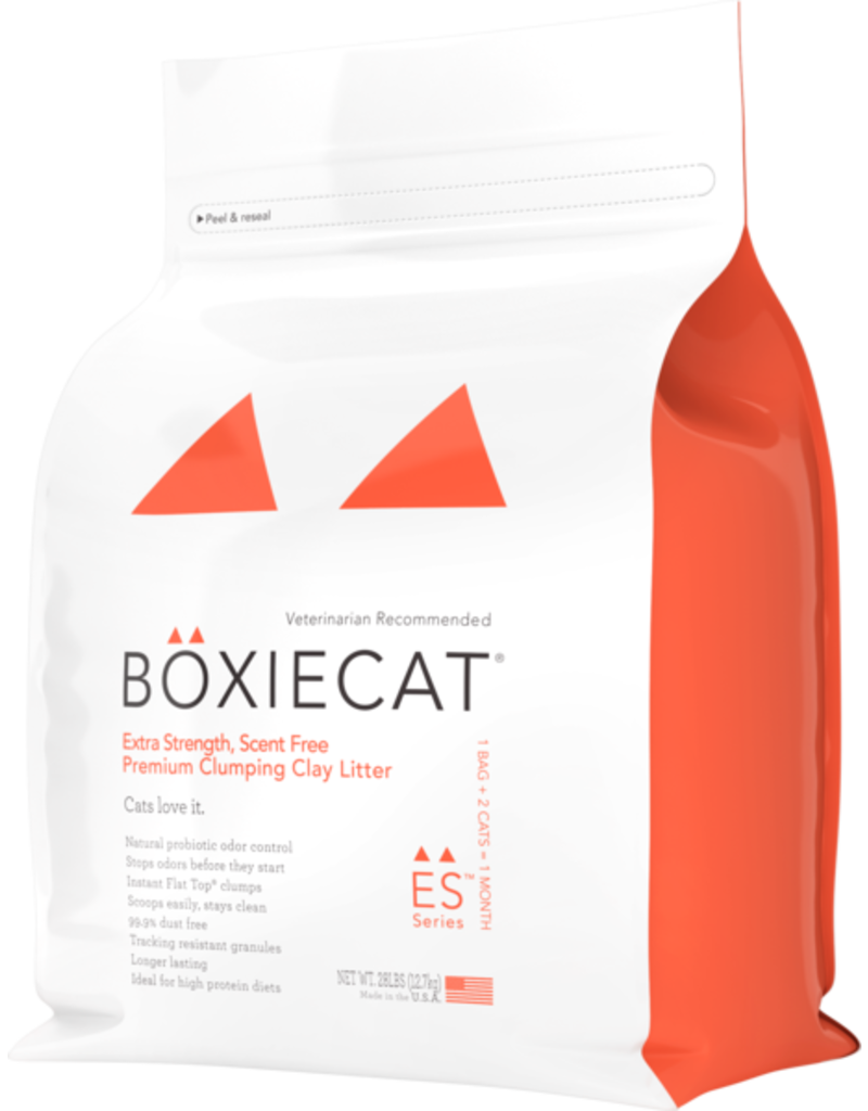 Boxiecat Boxiecat Extra Strength Premium Clumping Clay Cat Litter