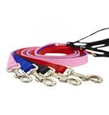Lupine Basic Red 6ft Padded Handle Dog Leash