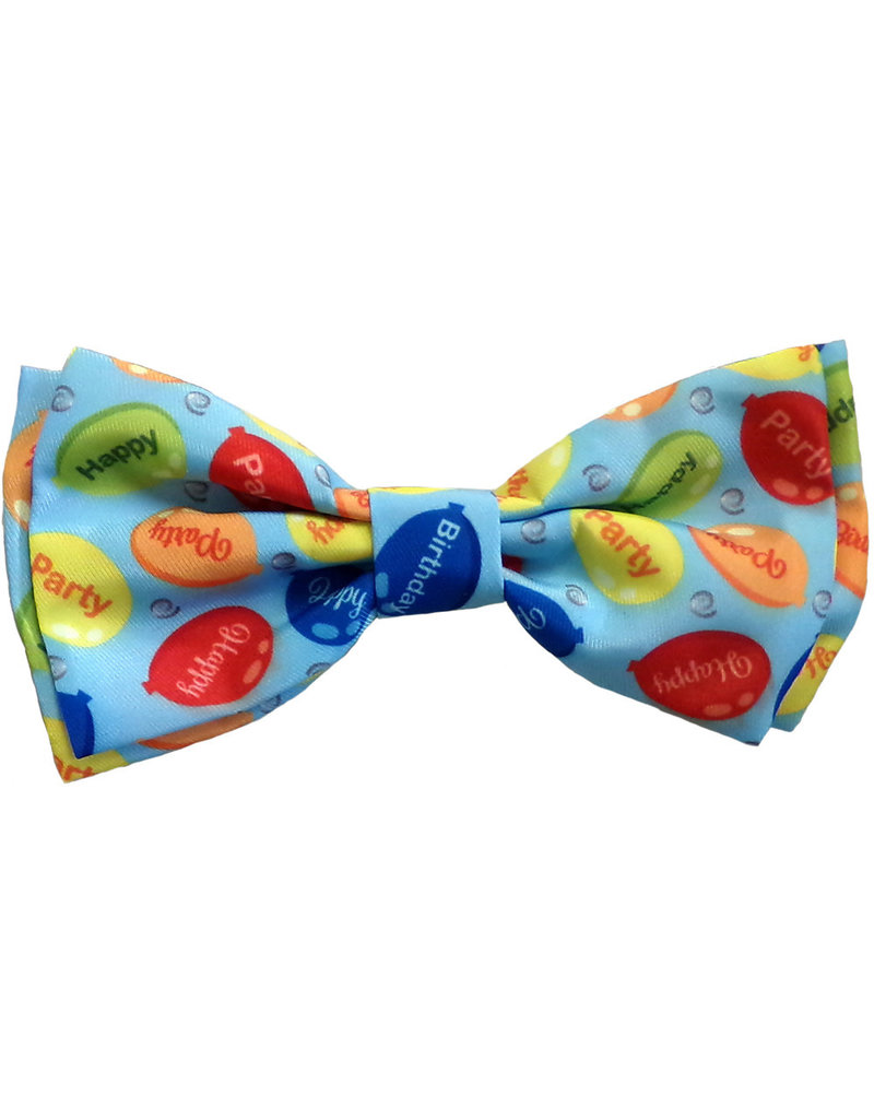 Huxley & Kent Party Time Blue Bow Tie by Huxley & Kent
