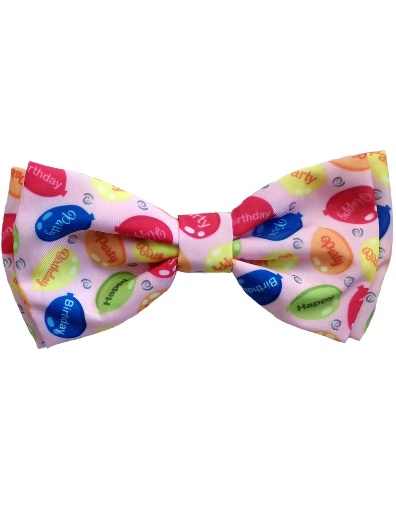 Huxley & Kent Party Time Pink Bow Tie by Huxley & Kent