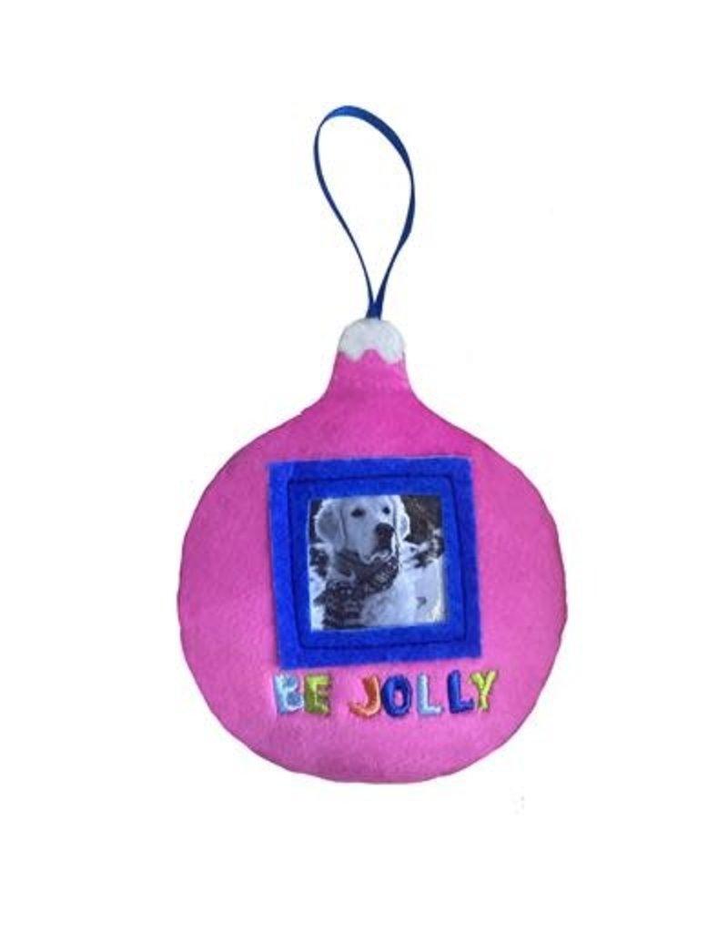 Huxley & Kent Be Jolly Frame Ornament by Lulubelles