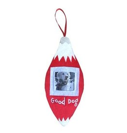 Huxley & Kent Holiday Pet Photo Ornament - Good Dog