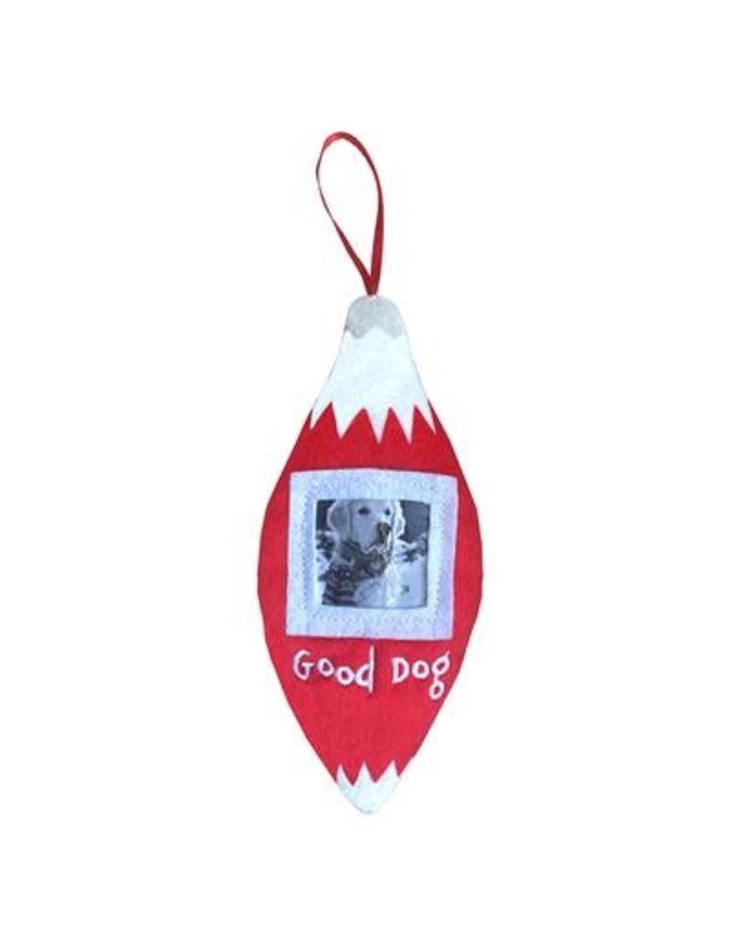 Huxley & Kent Good Dog Frame Ornament by Lulubelles