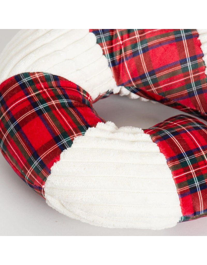 HuggleHounds Totally Tartan Candy Cane
