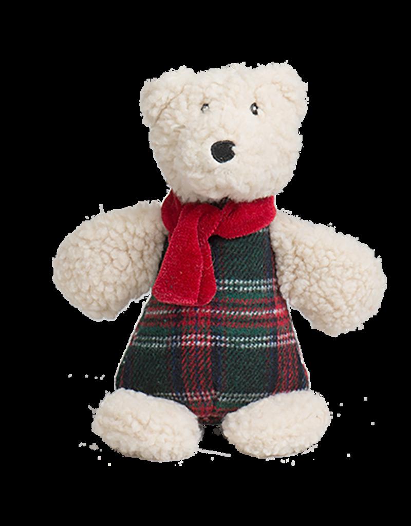 HuggleHounds Chubbie Buddie Polar Bear Dog Toy