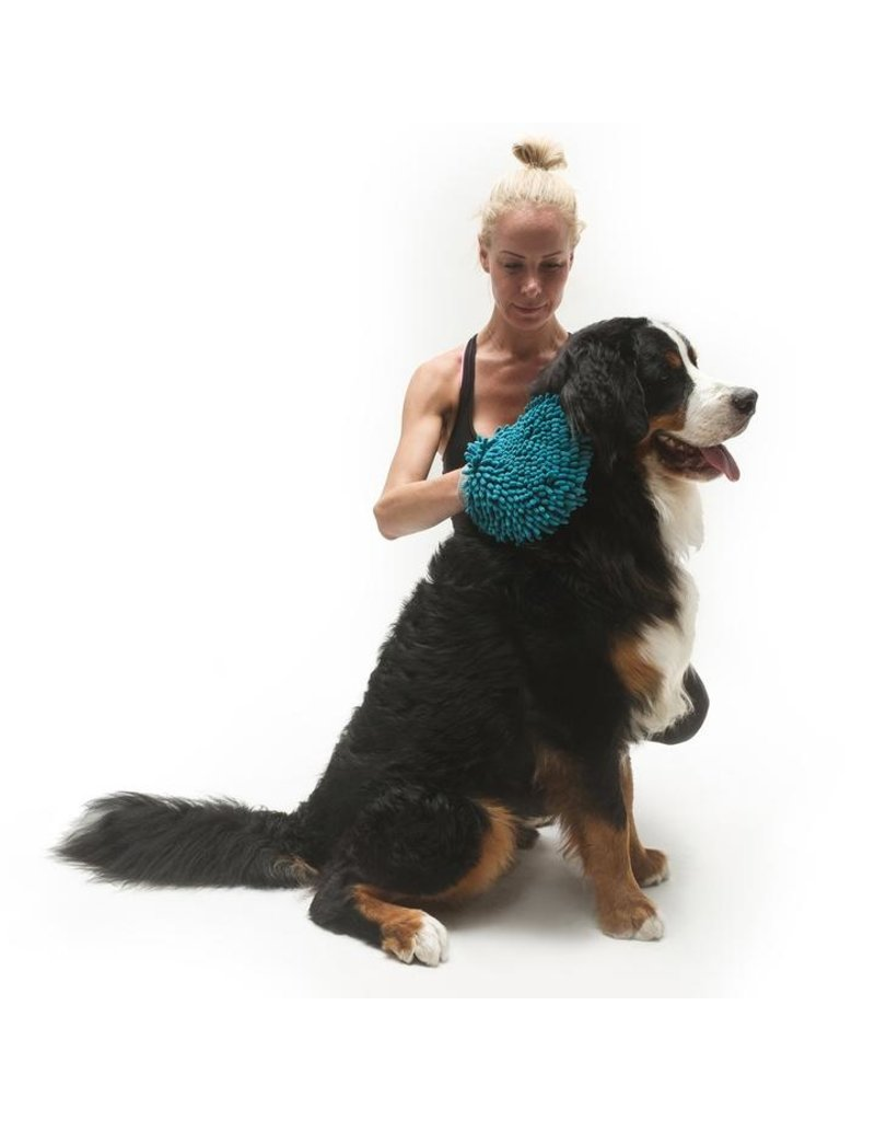 Reversible Silicone Pet Grooming Glove for Gentle Massage, Bathing and Hair Removal