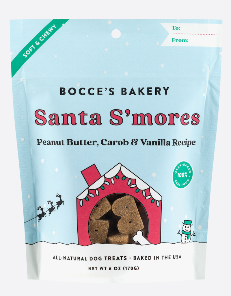 Bocce's Bakery Santa S'mores Soft & Chewy Treats
