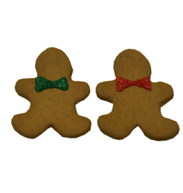 Preppy Puppy Bakery Gingerbread Man Cookie
