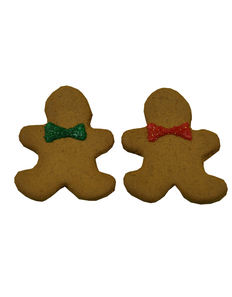 Preppy Puppy Bakery Gingerbread Man Cookie - Designer Dog Treat