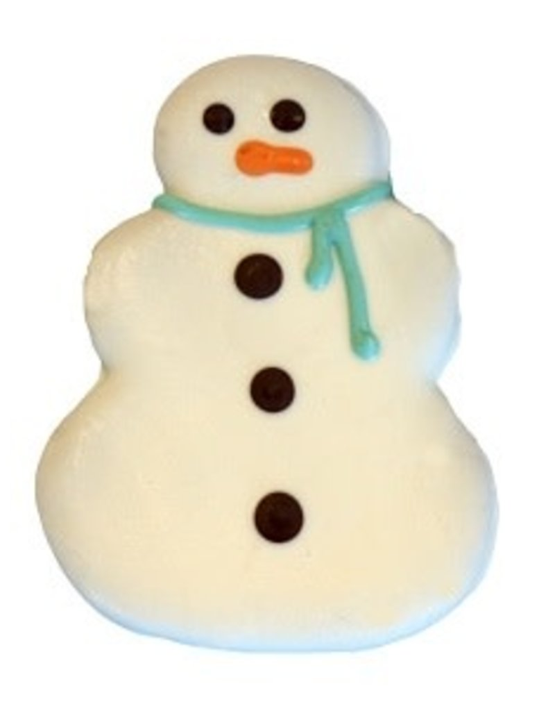 Preppy Puppy Bakery Snowman The Frost Cookie - Designer Dog Treat