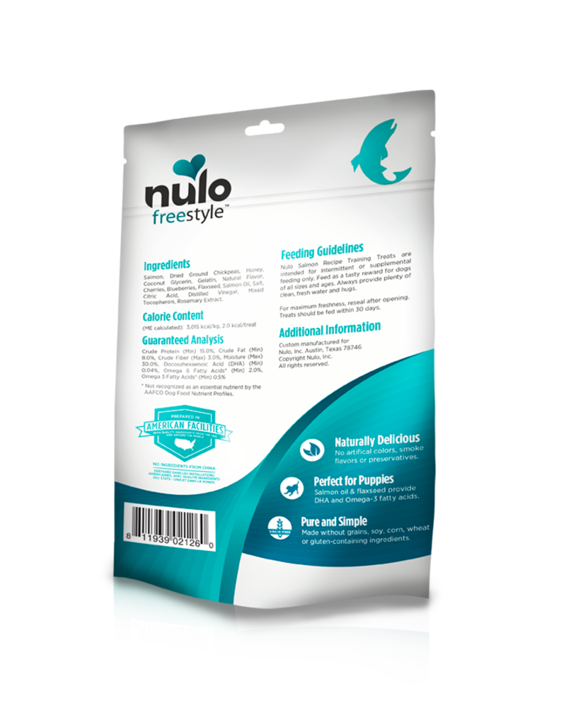 Nulo Nulo FreeStyle Training Treats Salmon Recipe
