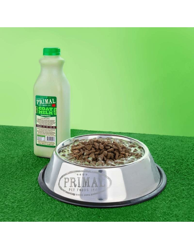 Primal Pet Foods Primal Goat Milk+ Green Goodness for Dogs & Cats