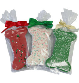 Preppy Puppy Bakery Christmas Bone Cookie - Assorted Colors