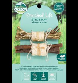 Oxbow Animal Health Enriched Life - Stix & Hay