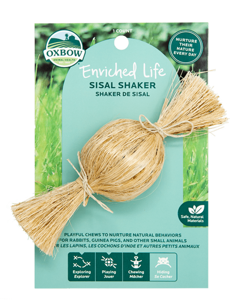 Oxbow Animal Health Enriched Life - Sisal Shaker