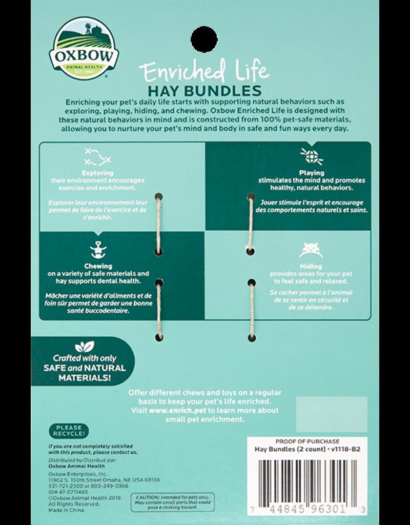 Oxbow Animal Health Enriched Life - Hay Bundles