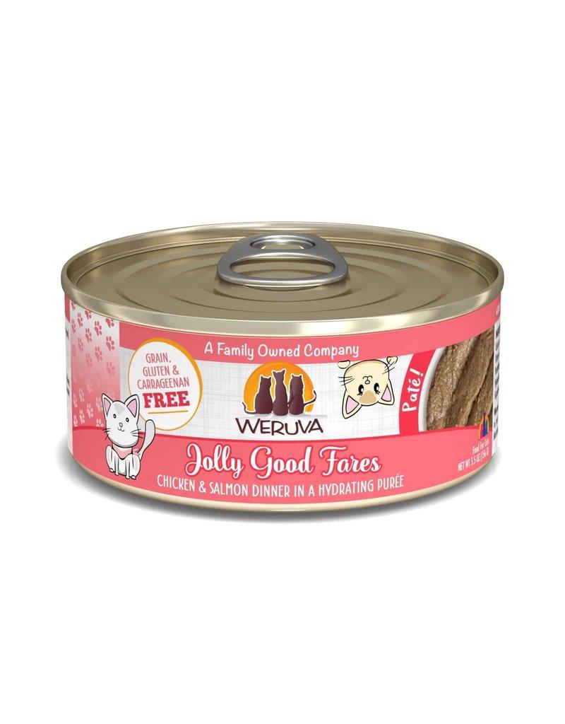 Weruva Weruva Jolly Good Fares Chicken & Salmon Dinner in a Hydrating Purée Wet Cat Food